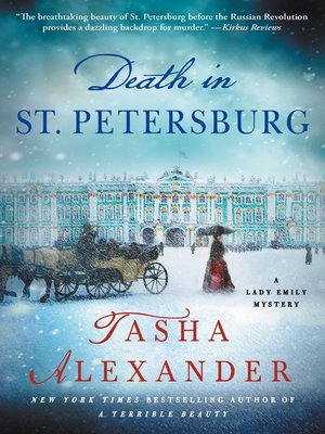 cover image of Death in St. Petersburg